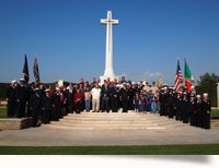 Remembrance Day al CT War Cemetery